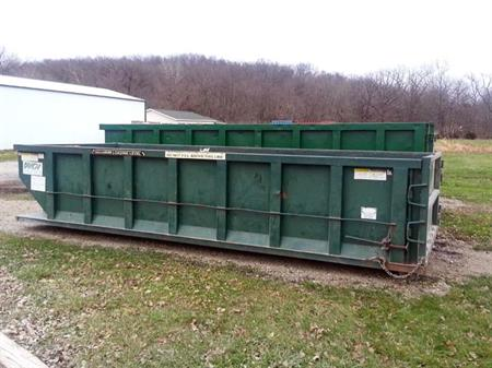 Wiegert Disposal Inc. - Commercial Dumpster Rentals 2yrd . 4yrd . 6yrd - front or rear load